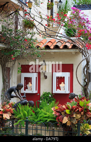 Store on Worth Avenue,Palm Beach,Florida,USA,North America - Stock Photo