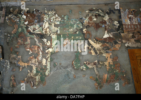 Ajanta cave no 1 painting in aurangabad at maharashtra india stock cave no 1 painting on the left wall of cave no1 in a thecheapjerseys Images