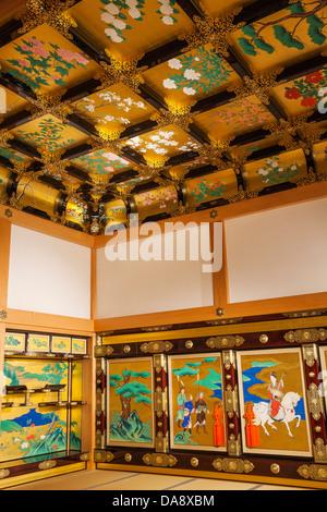 Japan, Kyushu, Kumamoto, Kumamoto Castle, Hon-Maru Goten Palace - Stock Photo