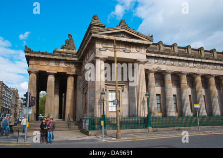 Royal Scottish Academy museum the Mound central Edinburgh Scotland Britain UK Europe - Stock Photo
