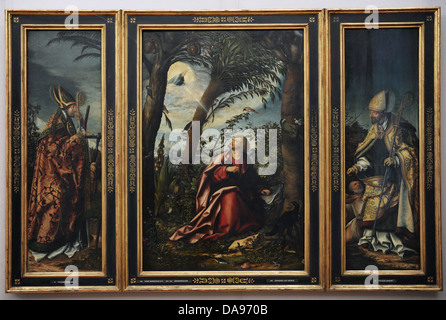 Hans Burgkmair the Elder (1473-1531). German painter. Saint John Altarpiece, 1518. - Stock Photo