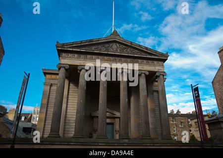 Surgeons Hall Museum exterior South Bridge street old town Edinburgh Scotland Europe - Stock Photo
