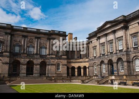 Old College University of Edinburgh buildings South Bridge central Edinburgh Scotland Britain UK Europe - Stock Photo