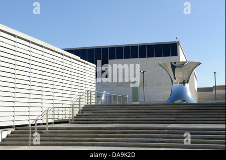 Israel, Israel museum, Jerusalem, Middle East, Near East, sculpture, - Stock Photo