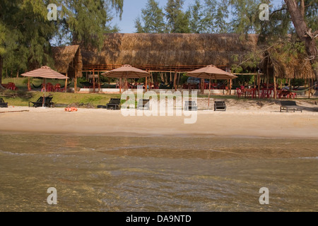 Asia, island, isle, coast, Phu Quoc, South-East Asia, Vietnam, Vietnamese, South Pacific beach, sand beaches, sand - Stock Photo