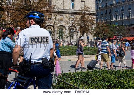 France,Ile de France,Paris,Police - Stock Photo