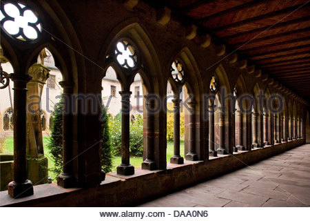 France,Alsace,Colmar,Unterlinden museum - Stock Photo