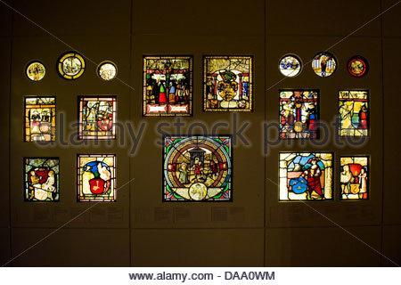 France, Alsace, Colmar, Unterlinden museum - Stock Photo