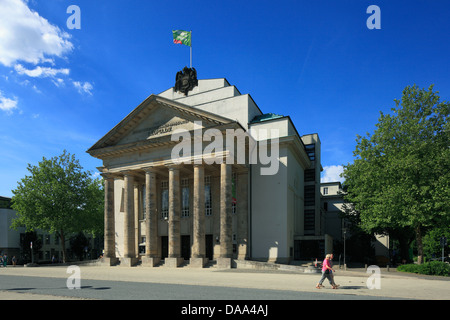 Landestheater Detmold, Teutoburger Wald, Nordrhein-Westfalen - Stock Photo