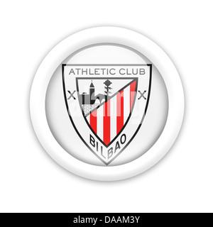 Athletic Bilbao logo symbol icon flag Stock Photo ...