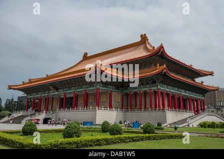 The National Theater in Chiang Kai-shek Memorial Hall Square, Taipei, Taiwan - Stock Photo