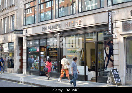 Hammer House in Wardour Street, Soho, London, UK. - Stock Photo