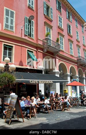 Nice Place Massena French Riviera Cote D'Azur France - Stock Photo