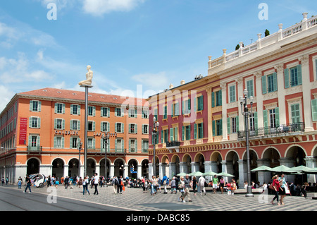 Galeries Lafayette Nice Place Massena French Riviera Cote D'Azur France - Stock Photo