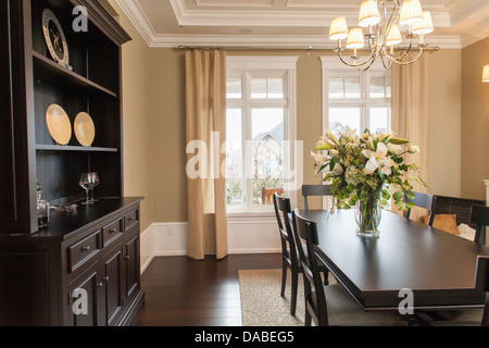High end dining room. - Stock Photo