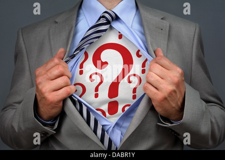 Superhero recruitment - Stock Photo