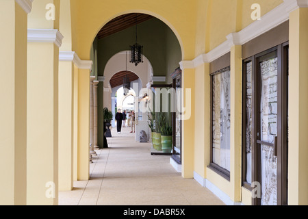 Worth Avenue, Palm Beach, Florida, United States of America, North America - Stock Photo