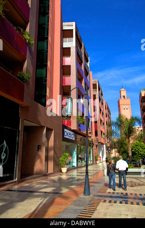Marrakech Plaza, Place du 16 Novembre, Marrakech, Morocco, North Africa, Africa - Stock Photo