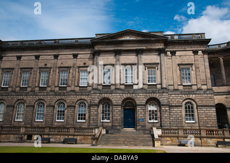 Old College University of Edinburgh buildings South Bridge central Edinburgh Scotland Britain UK Europe - Stock Photo