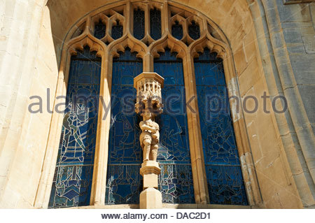 Abbey in Bath in Somerset , England, UK - Stock Photo