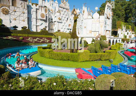 It's a Small World boat ride in Fantasyland Disneyland Park, Anaheim, California. - Stock Photo