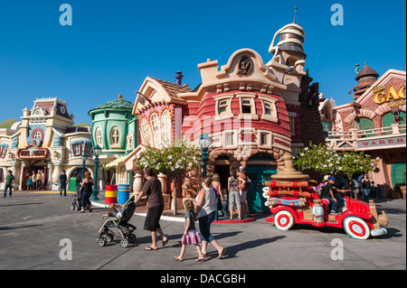 Toontown Disneyland, Anaheim, California. - Stock Photo
