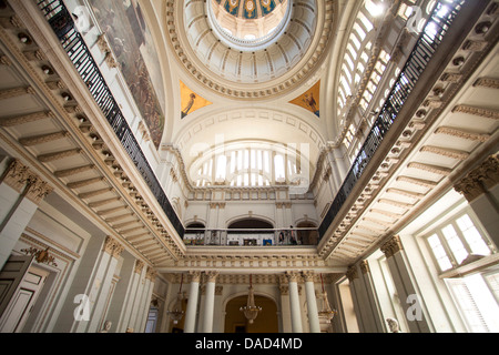 Interior of former Presidential Palace, now The Museum of the Revolution, Havana, Cuba - Stock Photo