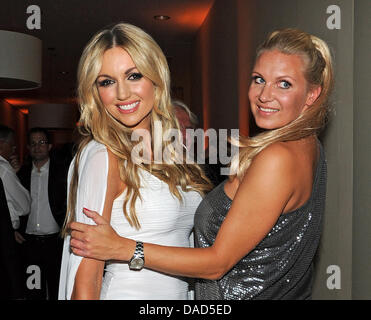 Former miss world rosanna davison and her mother diane davison out former gymnast magdalena brzeska r and former miss world rosanna davison attend the opening thecheapjerseys Images
