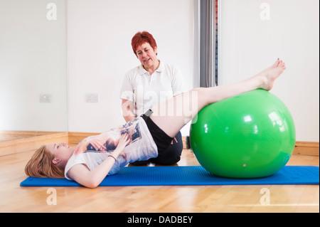 Mature daddy ball