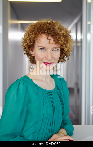 Portrait of young adult woman - Stock Photo