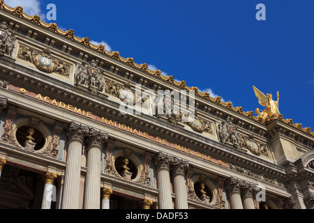 Palais Garnier, the Opera House in Paris, France - Stock Photo