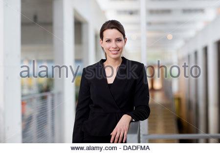 Woman looking at camera - Stock Photo