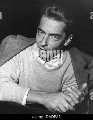 Der österreichische Dirigent Herbert von Karajan in einer undatierten Aufnahme. Von 1955 bis kurz vor seinem Tod - Stock Photo