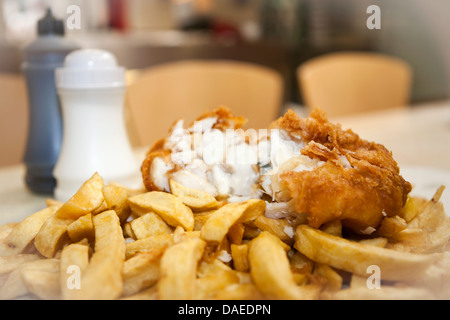 Fish & Chips - Stock Photo