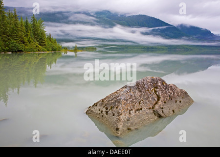 Mendenhall Lake , USA, Alaska, Juneau - Stock Photo