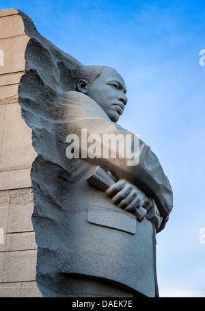 Martin Luther King memorial, Washington DC, USA - Stock Photo
