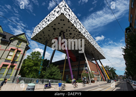 Ontario College of Art & Design, McCaul St, Toronto, Canada - Stock Photo