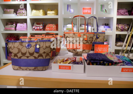coach sale outlet ae5m  Miami Florida City Florida Florida Keys Outlet Center centre shopping Coach  women's sale retail display fashion