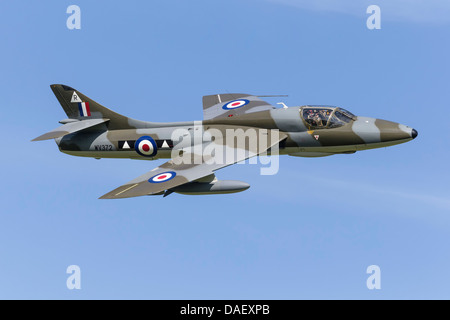 Hawker Hunter T7 - Stock Photo