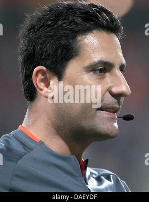 FILE - An archive picture dated 13 May 2010 shows referee Babak Rafati during a match between Nuremberg and Augsburg - Stock Photo