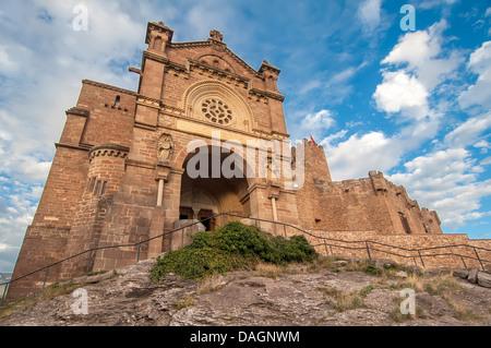 Javier Castle in Navarra ,spain - Stock Photo