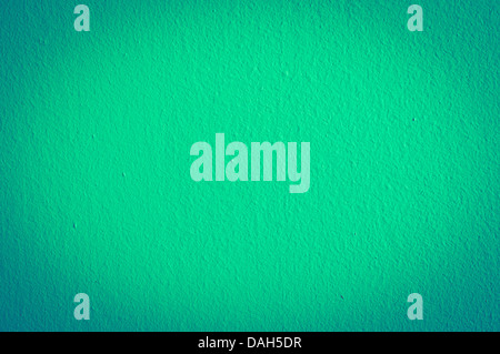 An image of turquoise wall background - Stock Photo