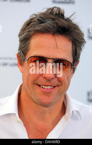 London, UK. 13th July 2013. Actor Hugh Grant at the London Evening Standard Get Reading Festival in partnership - Stock Photo
