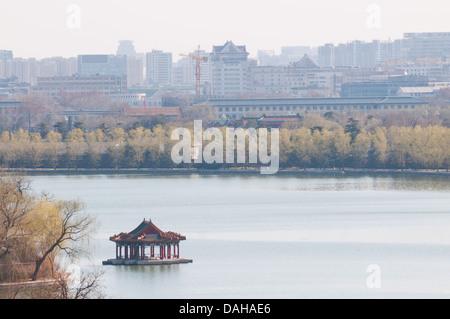 Beihai Park in Beijing, China - Stock Photo