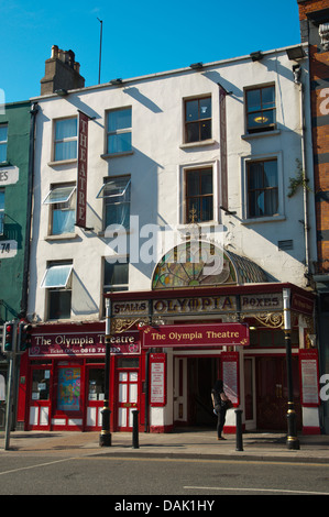 Olympia Theatre building Dame street central Dublin Ireland Europe - Stock Photo