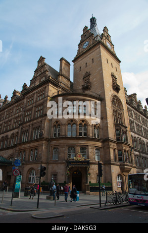 Victorian style The Grand Central Hotel central Glasgow Scotland Britain UK Europe - Stock Photo