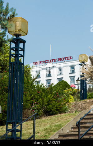 Westcliff Hotel, Southend on Sea. - Stock Photo
