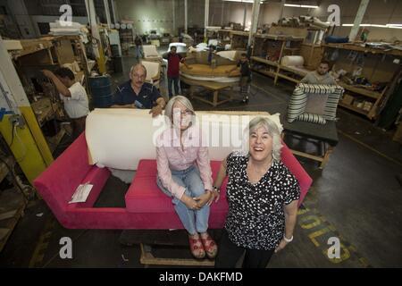 June 19, 2013 - Los Angeles, California, U.S - Karen Rosen Hirsch, left, President, and Judy Rosen, Vice President - Stock Photo