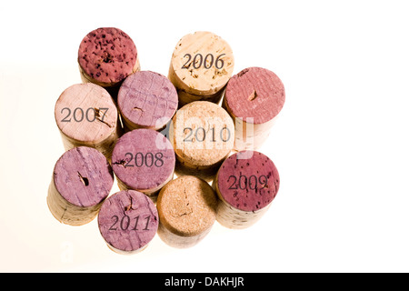 a heap of corks - Stock Photo