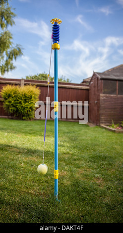 Beau Swing Ball Head · Backyard Tennis Game   Stock Photo